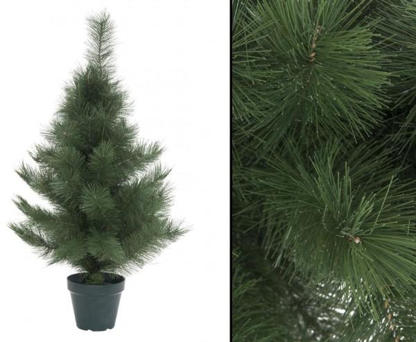 Künstlicher Weihnachtsbaum klein, Höhe 90cm