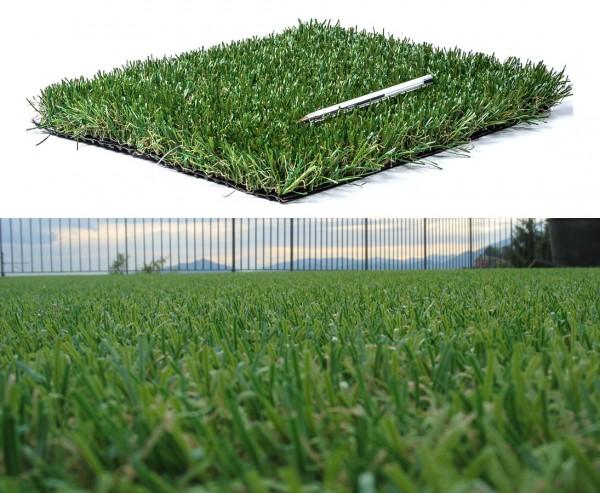 Rasenteppich Venezia 500x200cm mit 30mm Höhe, UV beständig
