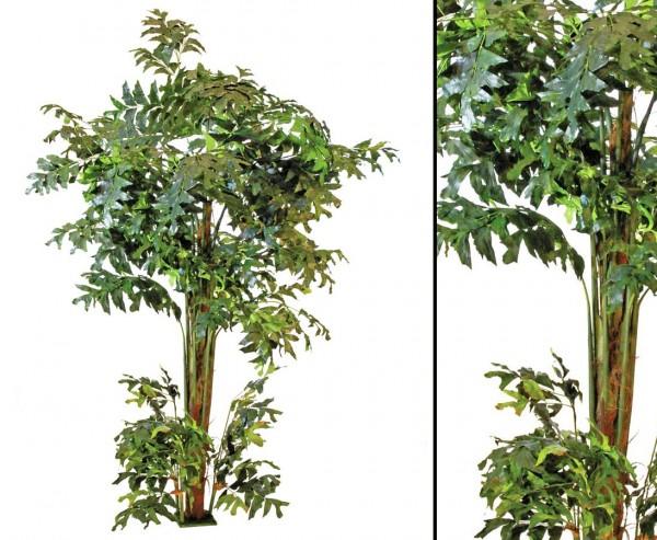 Fishtail-Palmbaum künstlich 1426 Blätter Höhe ca. 305cm