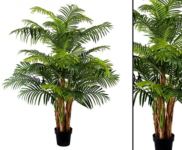 Kunstpalme Phönix 160cm 7fach mit 36 Palmwedel