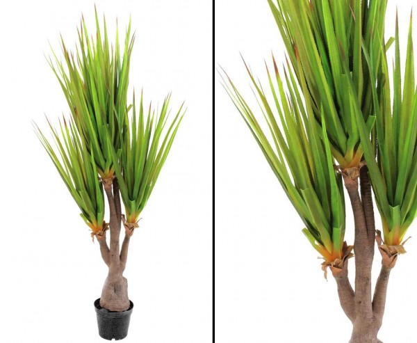 Säbelzahn-Agave Kunstpflanze 185cm mit 111 Blättern