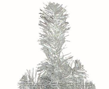 kleiner k nstlicher weihnachtsbaum silber mit 45cm anschaffen. Black Bedroom Furniture Sets. Home Design Ideas