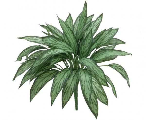 Aglaonema Kunstpflanze hell/dunkelgrün mit 45cm