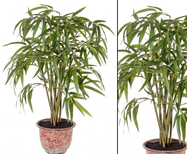 Bambus Kunstpflanze, Höhe 60cm, Durch. ca. 40cm