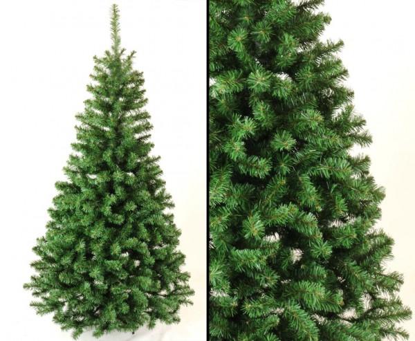 Künstlicher Tannenbaum Georgia grün 180cm mit PVC Nadeln schwer entflammbar
