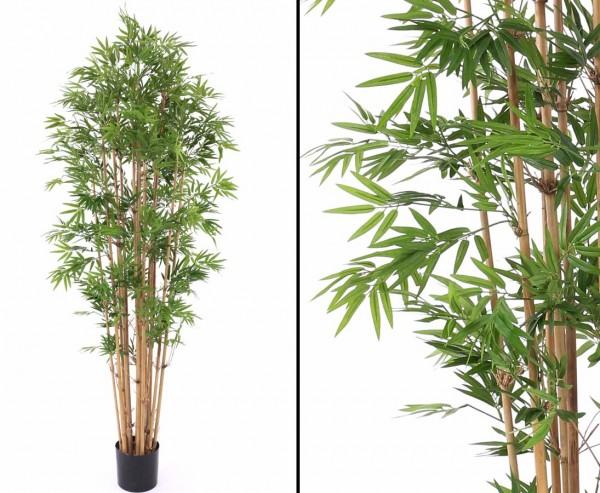 Japanischer Bambus Kunstbaum 240cm mit 4080 Blätter