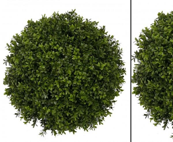 Buchsball mit Holz Kern, Durchmesser ca. 48cm, 1836 Blätter