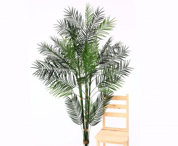 Kunstpalme Areca 210cm hoch Steckpflanze