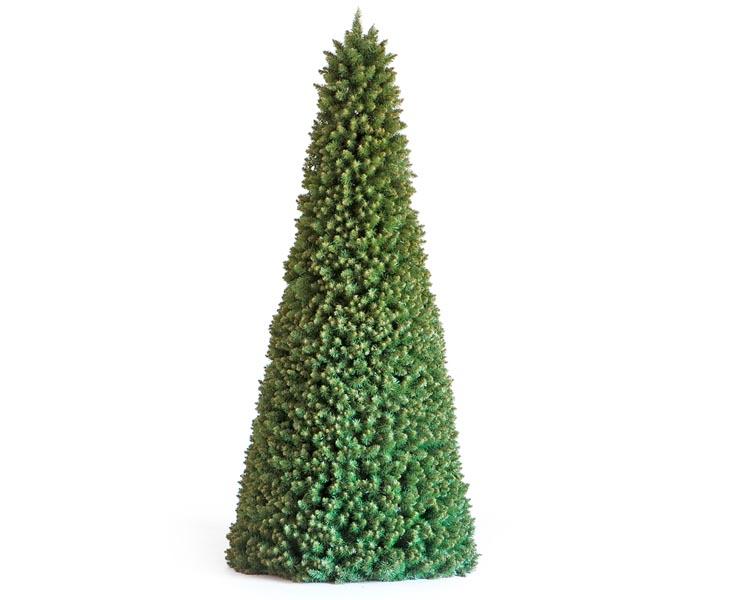 Weihnachtsbaum Mit Beleuchtung.Weihnachtsbaum Mit Led Beleuchtung Pyramide Höhe 210cm