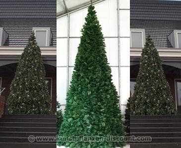 Der Weihnachtsbaum Mega mit einer Höhe von 860cm Ringsystem