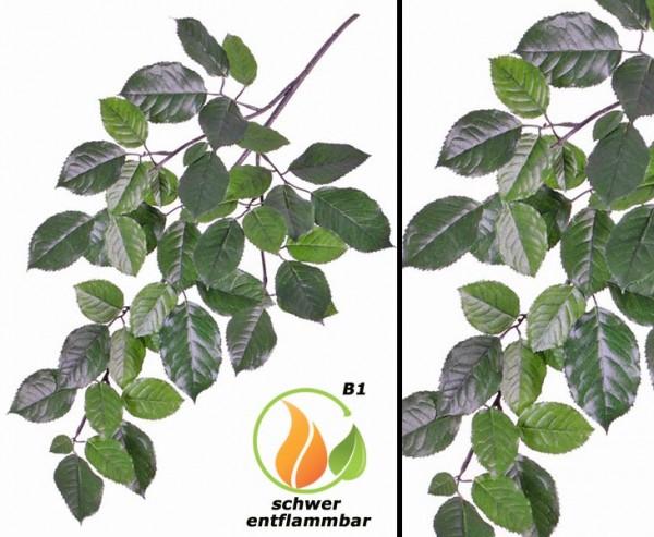 Kunstpflanzen Zweig mit schwer entflammbaren Buchenblätter 65cm