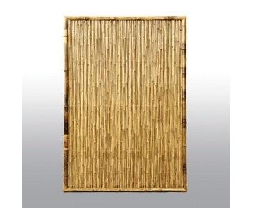 """Sichtschutzwand aus Bambus, """"TEN"""" 180 x   90cm"""