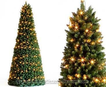 Weihnachtsbaum mit Beleuchtung Pyramide, Höhe 210cm