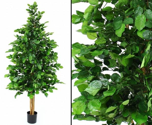 Buche, Kunstbaum mit 2236 Blätter, Höhe ca. 215cm