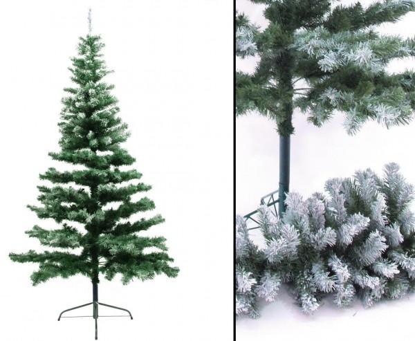 Künstlicher Weihnachtsbaum Tanne beschneit inkl. Ständer 240cm