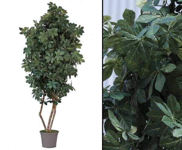 Kunstbaum Kastanie mit 280cm und 2970 Blätter