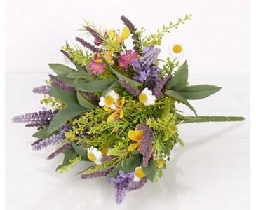 Künstlicher Lavendel Strauß Höhe ca. 20cm