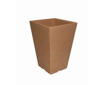 Pflanzgefäße aus Kunststoff, Tonfarben, A1 Durch. 24x24cm, Höhe 35cm