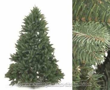 Künstlicher Tannenbaum, PE und PVC Nadel Mix, 180cm
