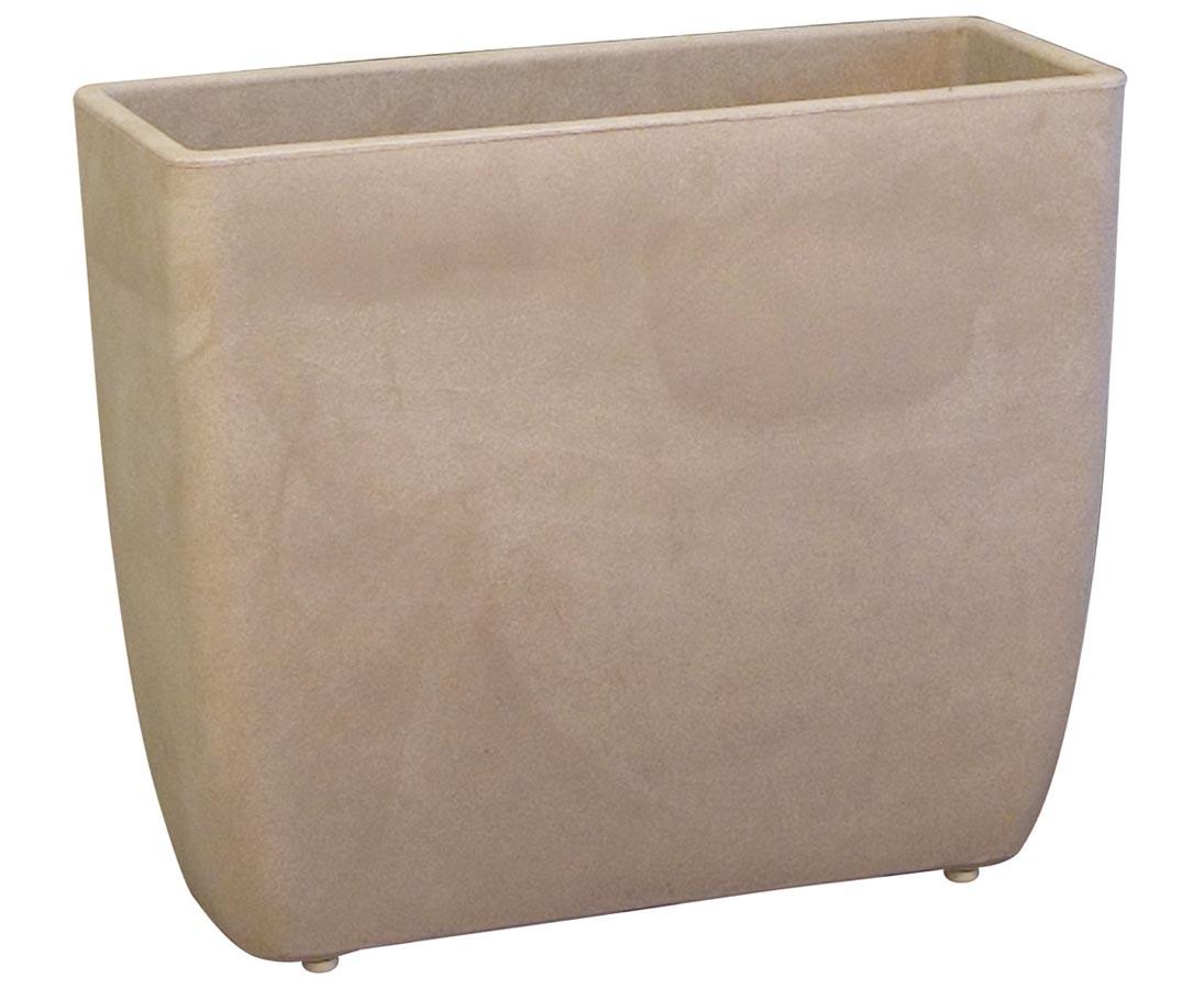 raumteilenden pflanzkasten 80x25cm havana farbig kaufen. Black Bedroom Furniture Sets. Home Design Ideas