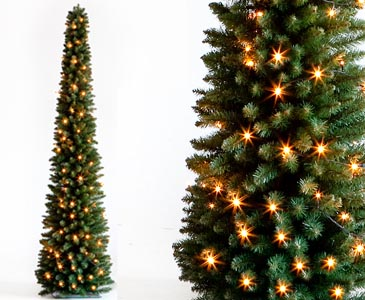 weihnachtsbaum s ule beleuchted mit led h he 180cm. Black Bedroom Furniture Sets. Home Design Ideas