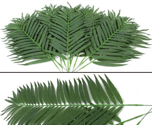 Cocos-Palmwedel kurz Textilpalmwedel 12 Stück Länge ca. 80cm