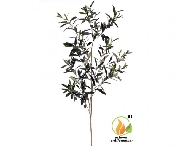 Olivenzweig 110cm schwer entflammbar mit 306 Blätter