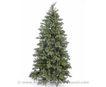 Künstlicher Tannenbaum mit Spritzguss Nadeln, Bavaria green, Höhe 180cm