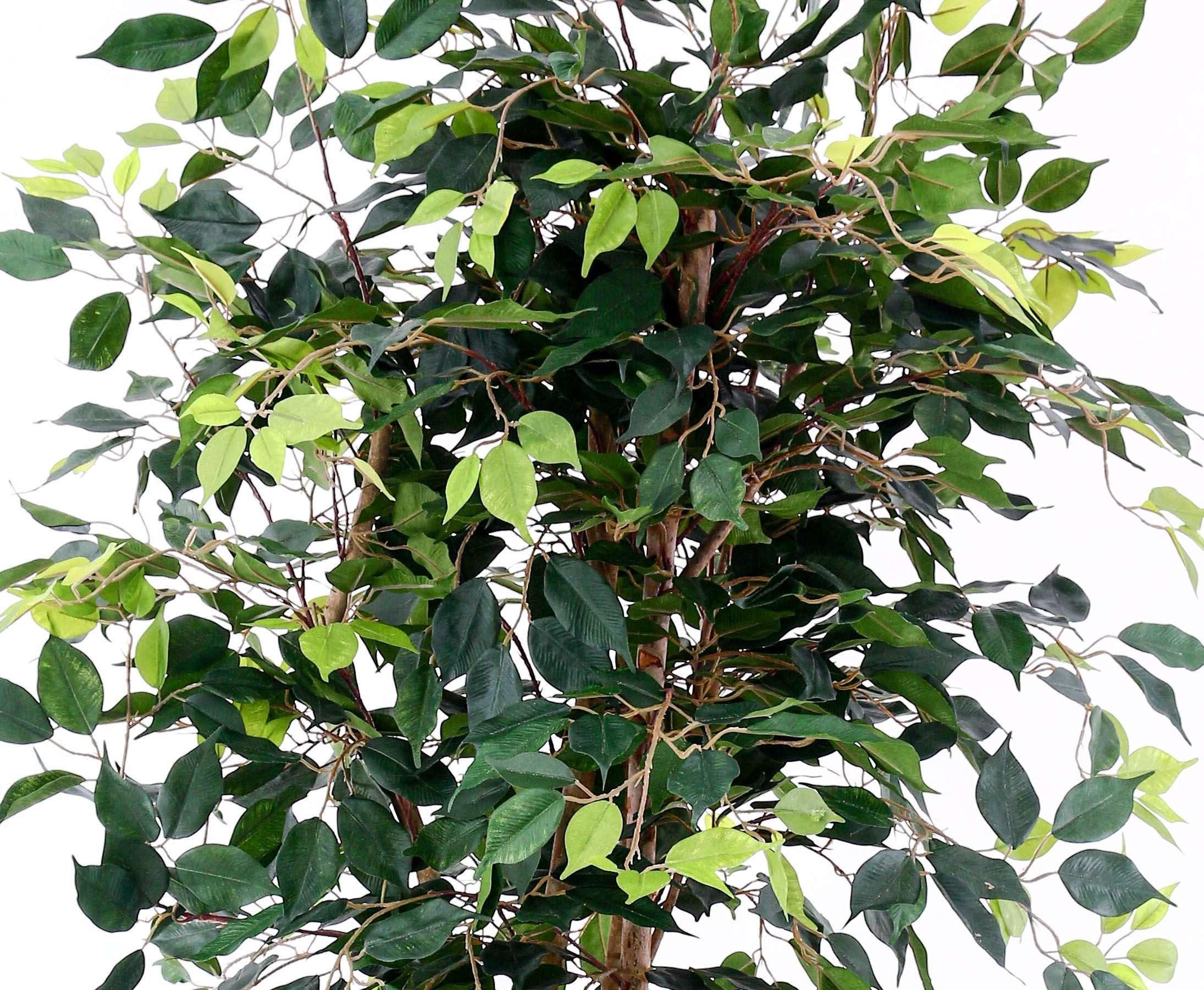 Kunstpflanze Dekobaum Zitronenbaum 120 cm Kunstbaum