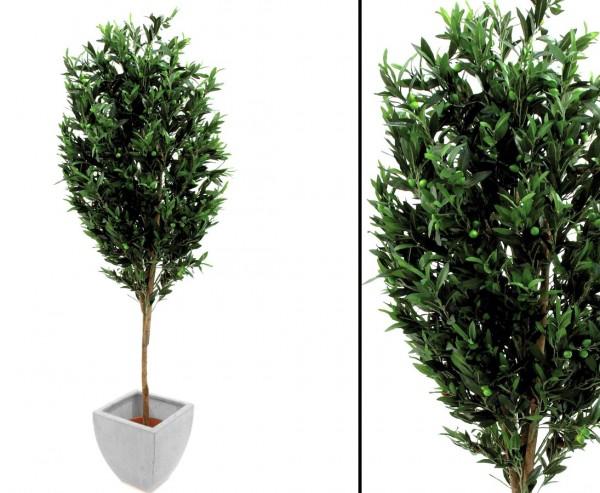 Künstlicher Olivenbaum mit 324 Oliven 200cm hoch