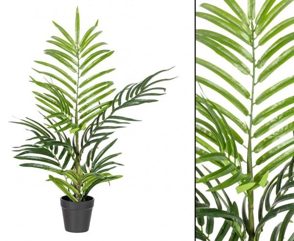 Arekapalme künstlich 60cm mit 7 Palmwedel im Topf