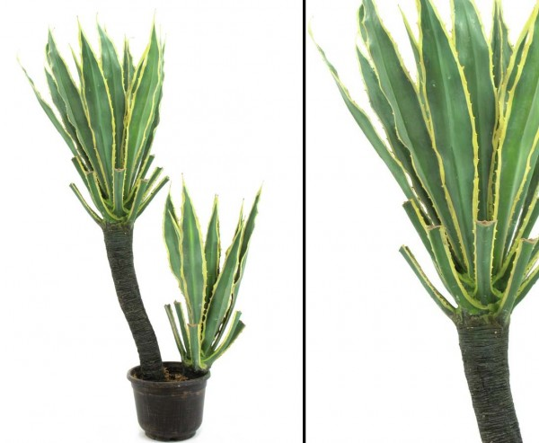 Orchideen Kaktus künstlich mit 29 Blätter, 160cm hoch