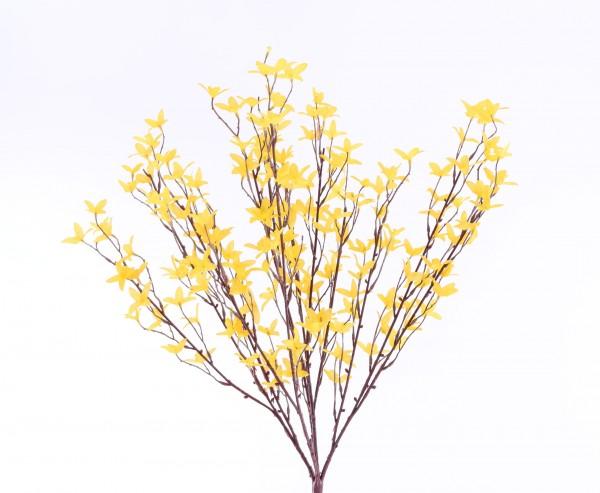 k nstlichen forsythie zweig mit gelben bl ten jetzt kaufen. Black Bedroom Furniture Sets. Home Design Ideas