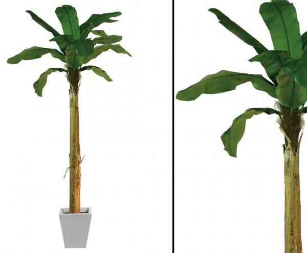 Bananenbaum künstliche Palme mit 13 Blätter Höhe ca. 270cm