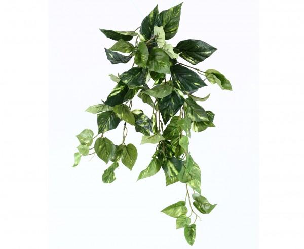 Künstliche Pflanze Pothos Busch 60cm mit 70 verschieden großen Blättern