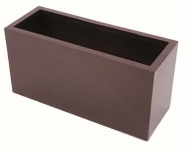 pflanzkasten braun gl nzend pe material mit 6 g nstig kaufen. Black Bedroom Furniture Sets. Home Design Ideas