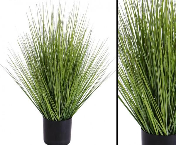 Kunstpflanzen Grasbusch im Topf mit 61cm, Durchmesser 35cm