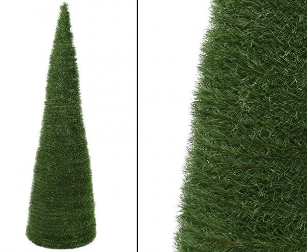 Künstlicher Christbaum kegelförmig mit einer Höhe von 120cm