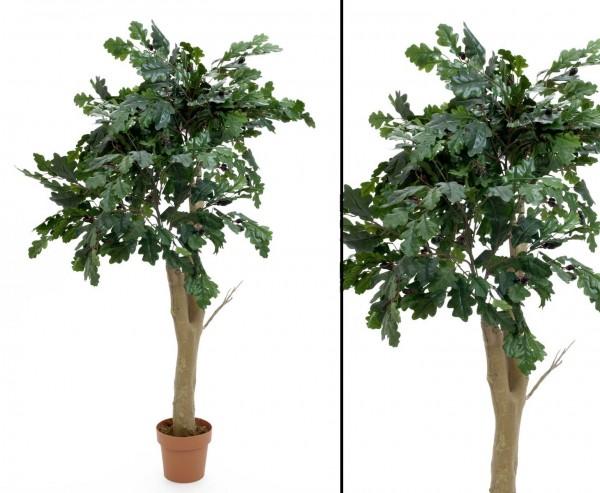 Eichen-Waldbaum mit Zweige und Eicheln 170cm