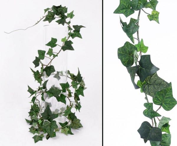 Efeu Grilande Hedera helix, 136 textile Blätter, Länge ca. 180cm