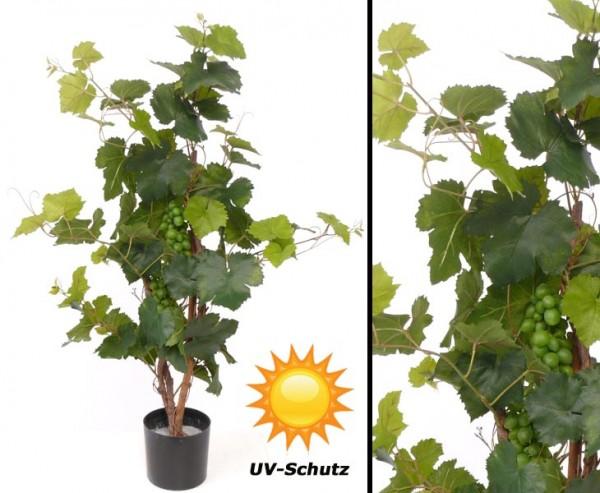 Künstlicher Rebstock UV safe 79 Blätter Höhe ca. 90cm