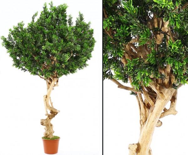 """Oliven Kunstbaum """"Kreta"""" ca. 320cm hoch mit ca. 270cm breiter Blätterkrone mit UV-Schutz"""