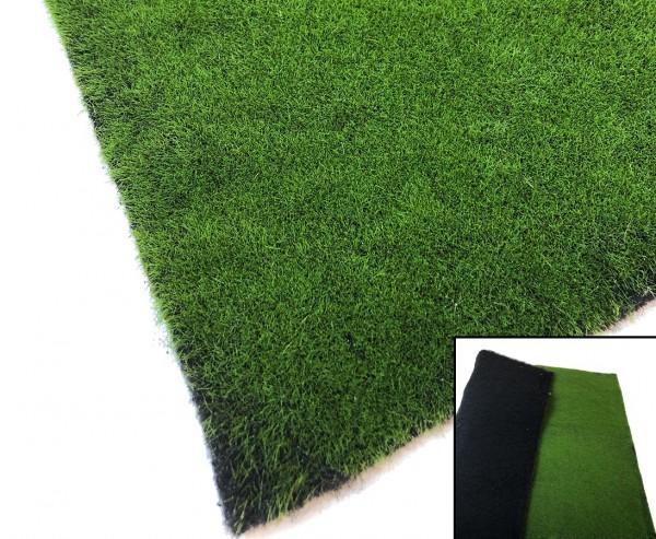 Moosmatte künstlich 100x78cm Dekorationsmoos dunkelgrün