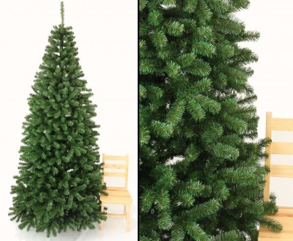 Weihnachtsbaum künstlich 270cm Georgia, 1150 Zweigspitzen mit PVC Nadeln B1