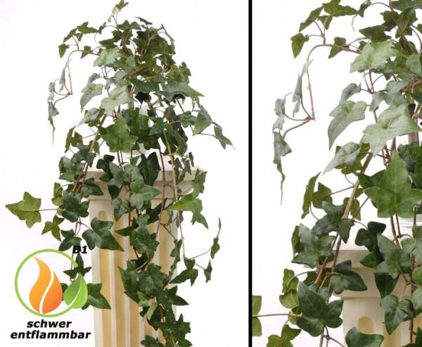 Efeu Helix telecurl, Hedra, 164 Blätter, 60cm, B1 schwer entflammbar