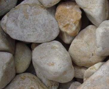 Zierkies Alpendolomit gelb, Durch. 16 bis 25mm, Sack mit ca. 19kg