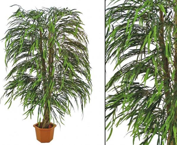 Weidenbaum künstlich mit Naturstamm und 2720 Blätter