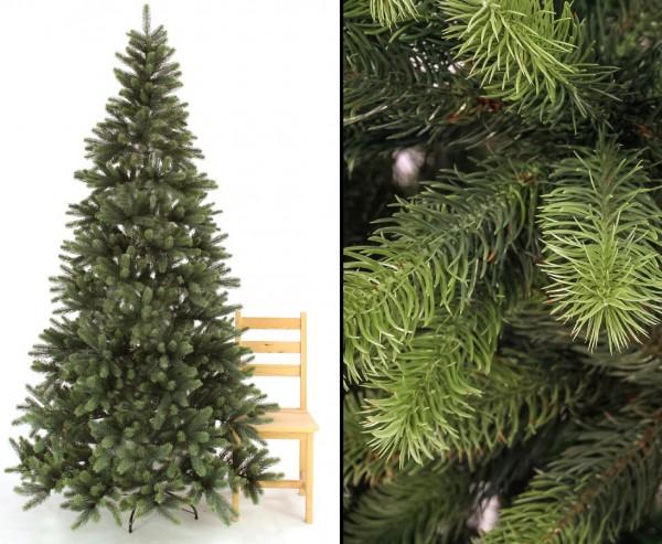 Weihnachtsbaum künstlich 240cm mit 1646 Tips/ Nadeln aus schwer entflammbaren Nadeln