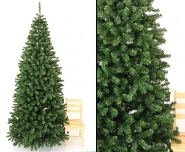 Weihnachtsbaum künstlich 270cm Georgia mit 1150 Zweigspitzen und PVC Nadeln in B1