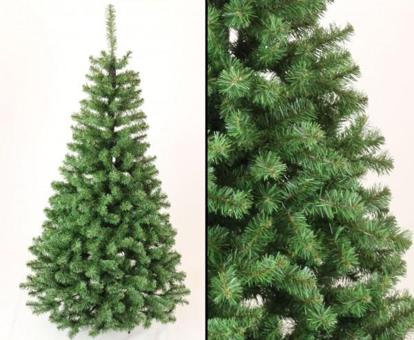 Künstlicher Weihnachtsbaum Georgia grün 150cm, mit 344 Zweigspitzen